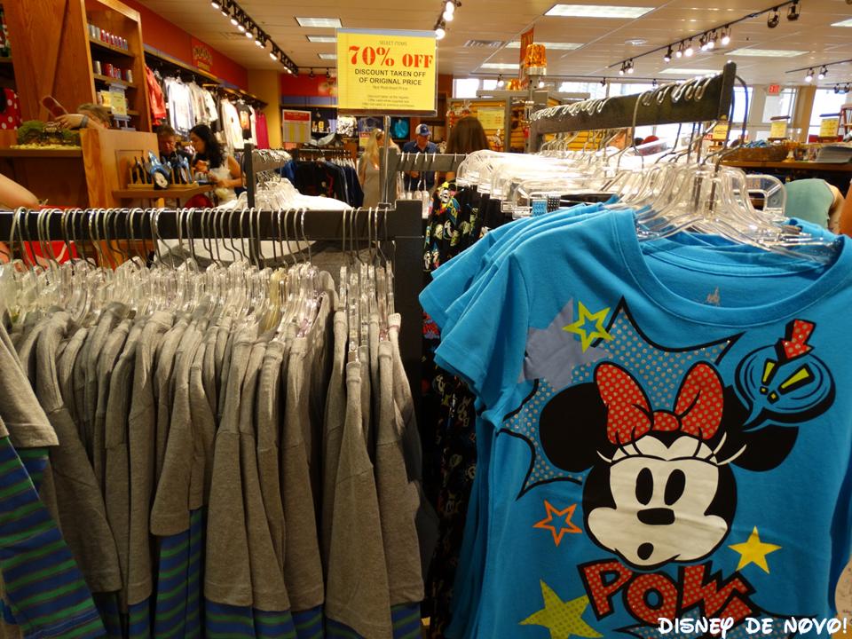 Outlet da Disney Character Warehouse outlet disney blusas