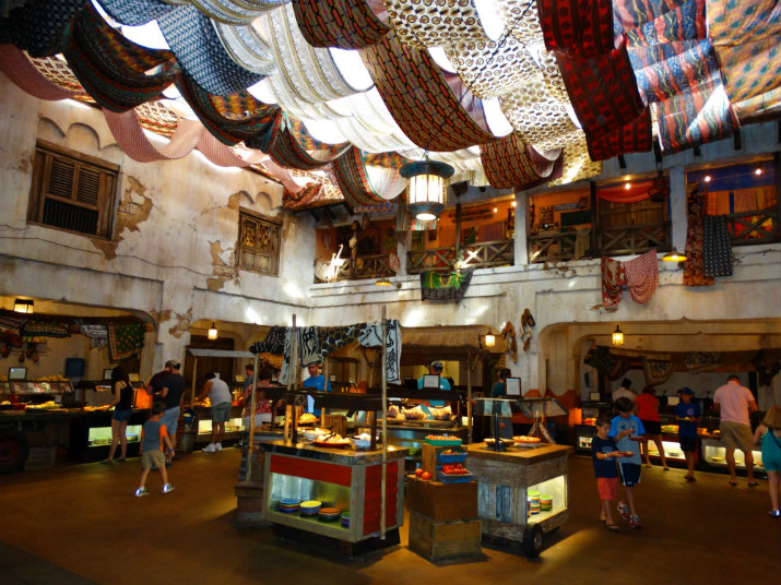 Tusker House Animal Kingdom Buffet