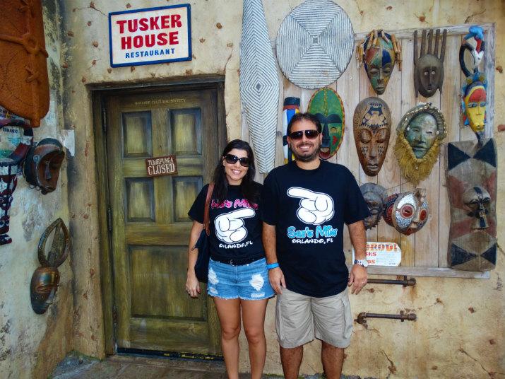 Tusker House Animal Kingdom foto