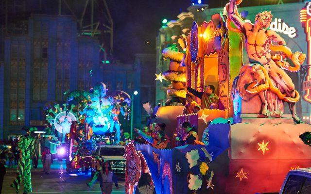 Mardi Gras – o Carnaval da Universal