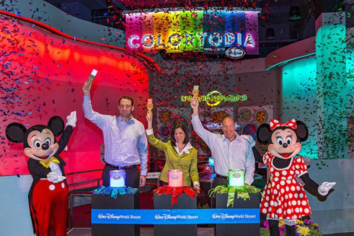 Colortopia e Disney&Pixar Short Film Festival ‑Epcot