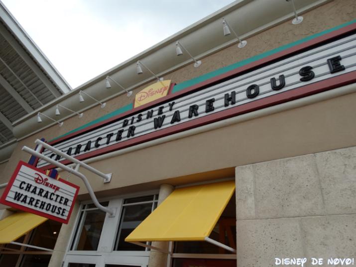 Outlet da Disney Character Warehouse