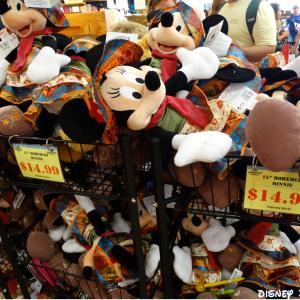 As lojas Outlet da Disney em Orlando