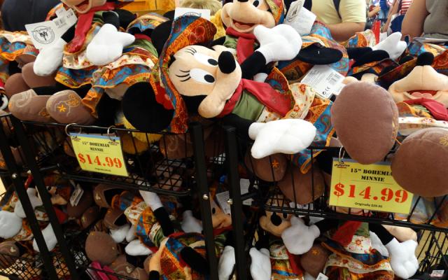 As lojas Outlet da Disney em Orlando- você tem queir!