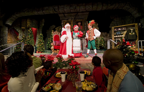 Santas fireside Feast