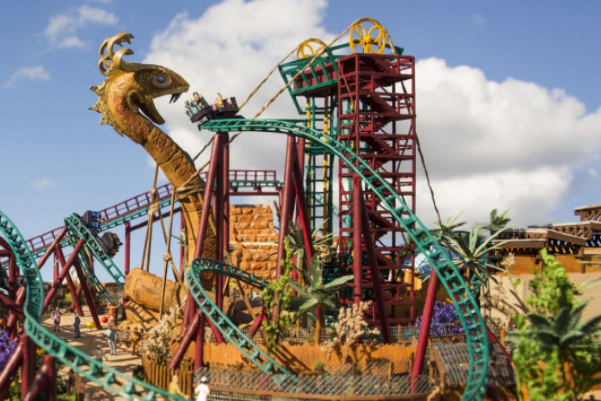 Cobra's Curse: Nova montanha russa do Busch Gardens