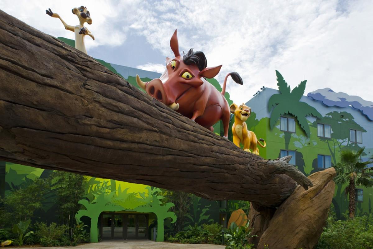Benefícios dos hotéis da Disney em Orlando