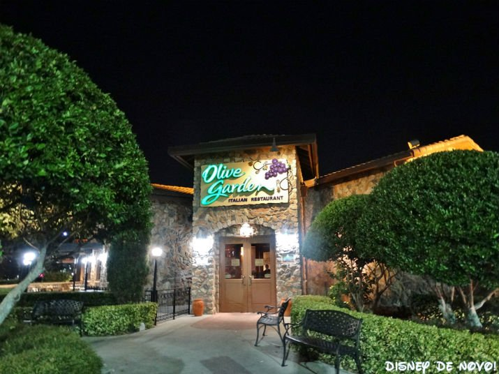 Olive Garden Orlando Restaurante Italiano Delicioso Disney De Novo