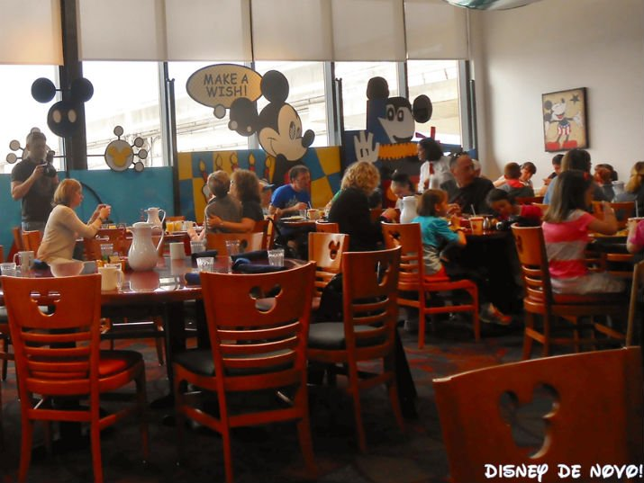 Chef Mickey Cafe Personagens Disney