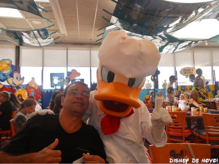 Chef Mickey Donald
