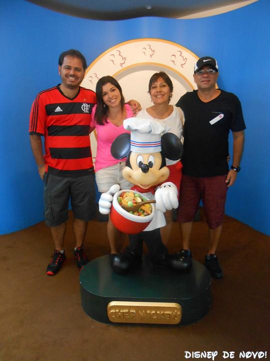Chef Mickey Cafe da Manha