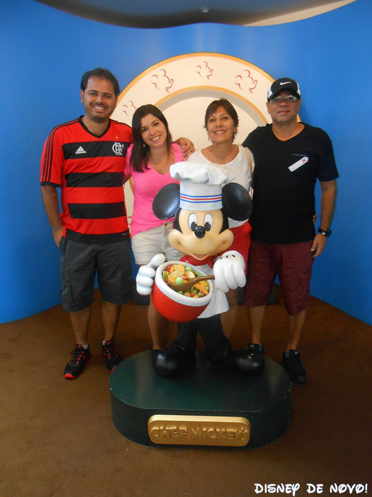 Chef Mickey Cafe da Manha