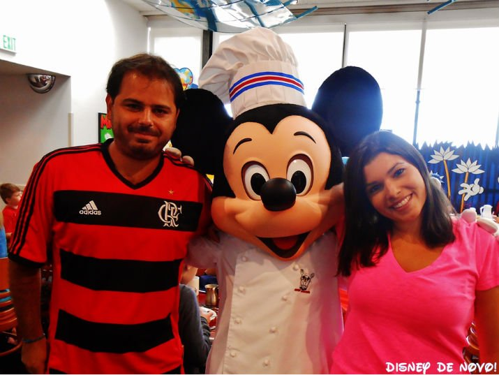Chef Mickey restaurante Disney
