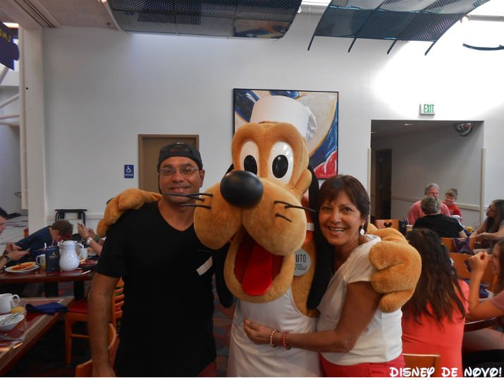Chef Mickey Pluto