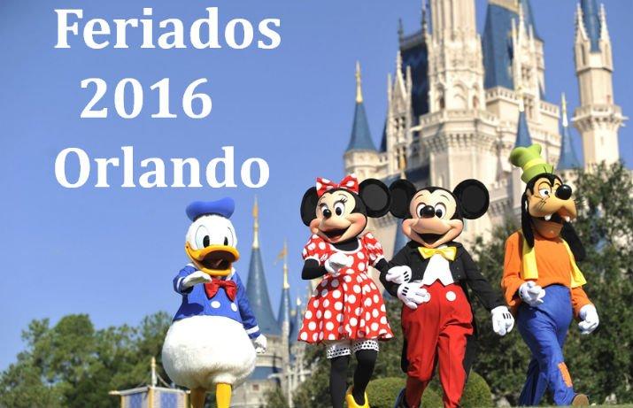 Feriados 2016 de Orlando