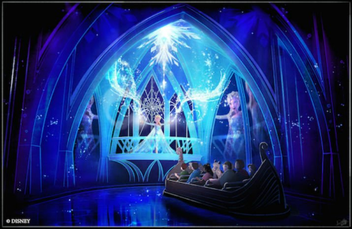 Frozen Epcot Novidades de Orlando em 2016