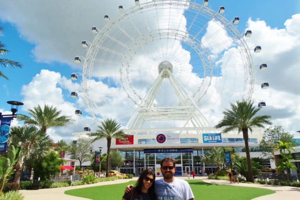 ICON Orlando- a roda gigante de Orlando