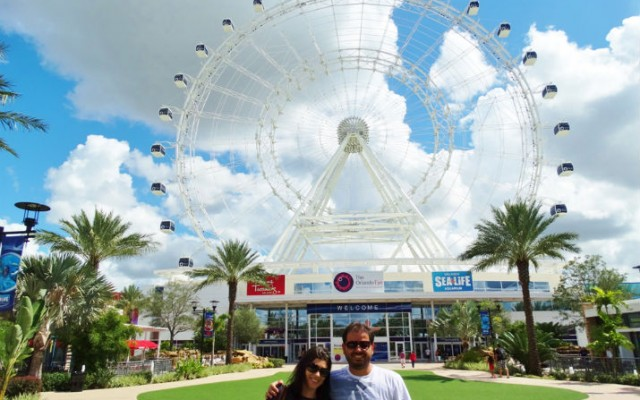 The Wheel- a roda gigante de Orlando