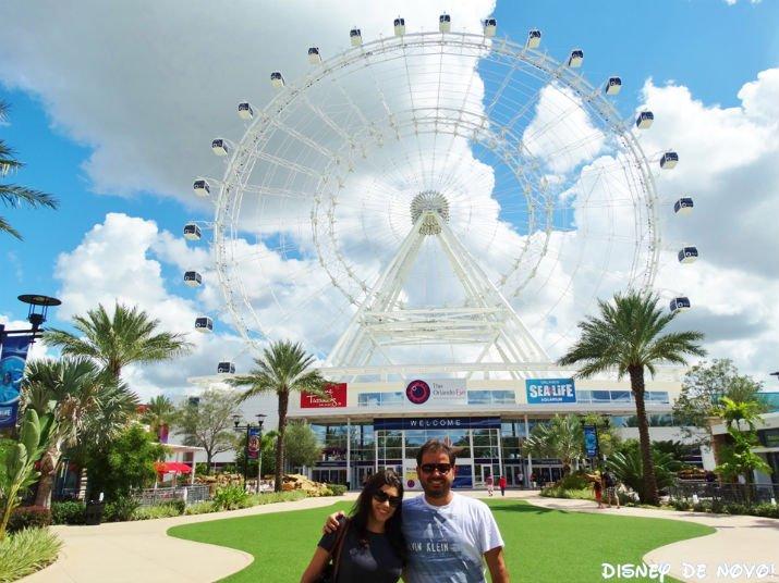 ICON Orlando roda gigante