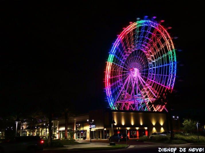 Roda Gigante Orlando Noite