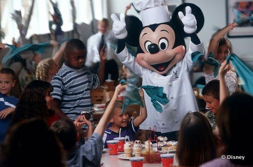 chef mickey personagens Disney