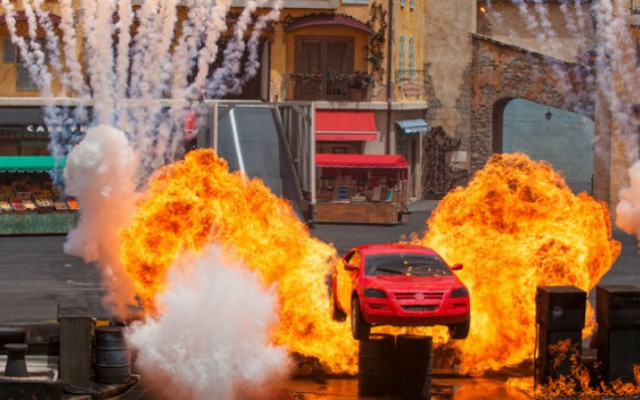 Lights, Motors, Action! fecha no Hollywood Studios