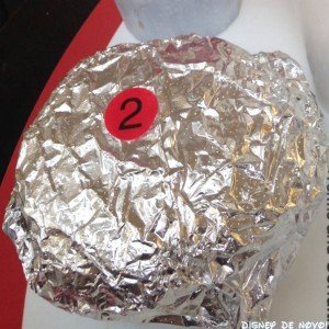 Five Guys Hamburguer aluminio