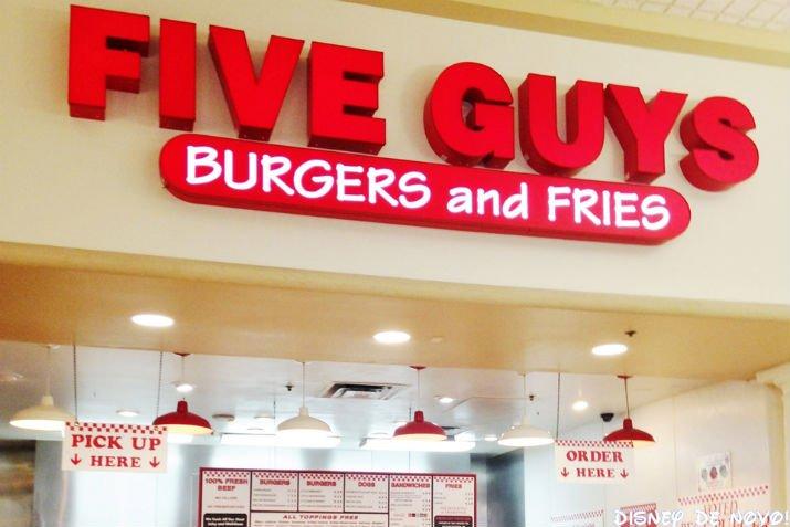Five Guys Orlando