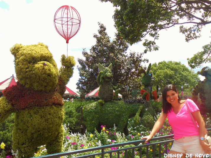 Flower and Garden Epcot Pooh