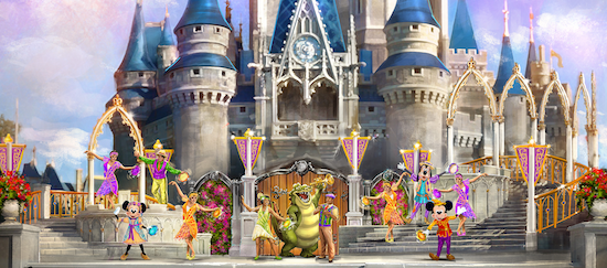Mickeys's Royal Friendship Faire