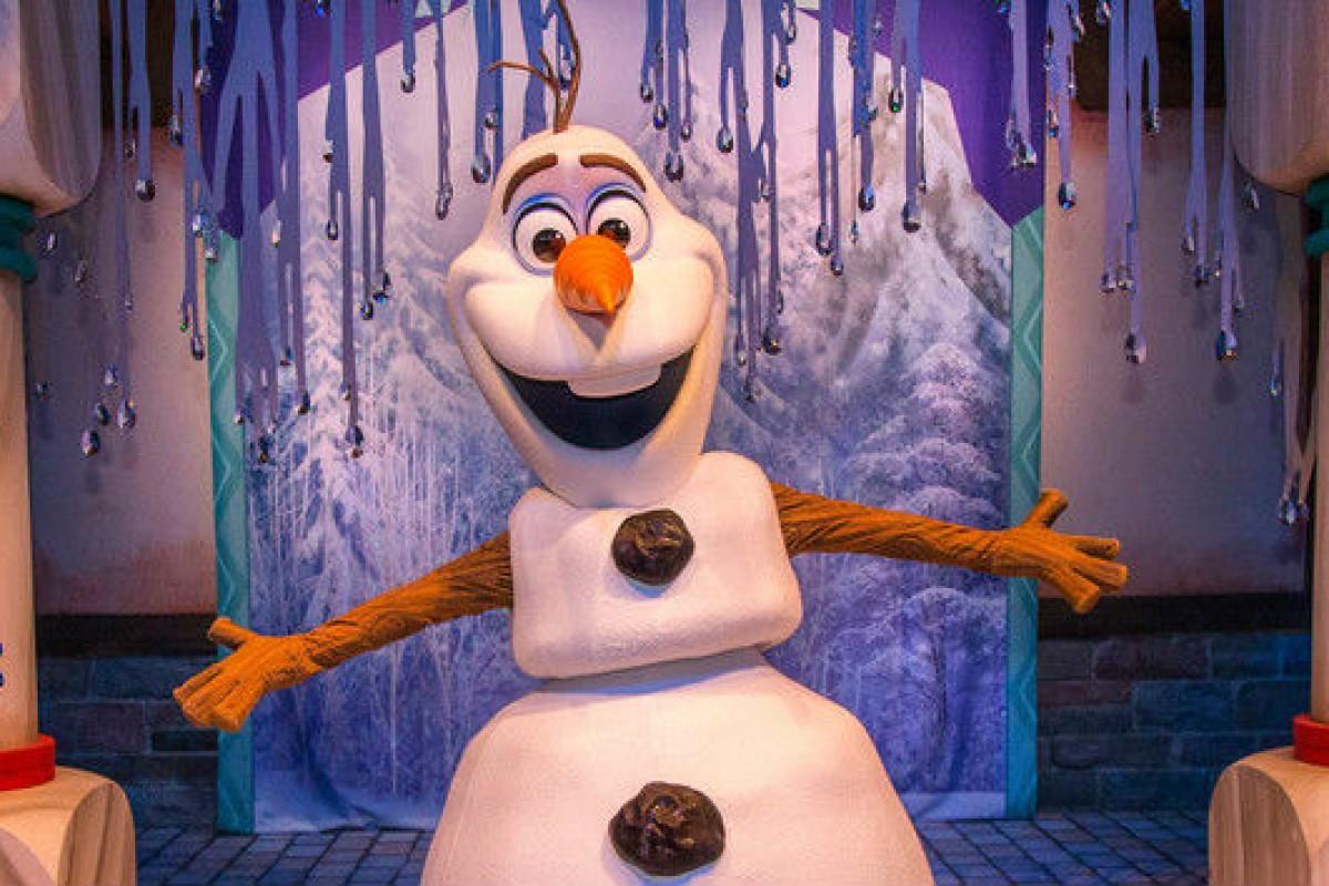 Olaf  no Hollywood Studios