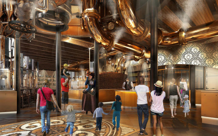 Toothsome Chocolate Factory Ambiente