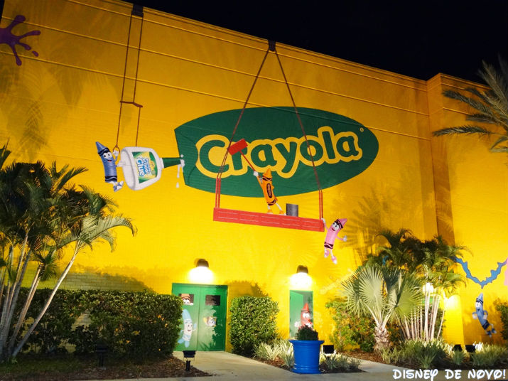 Crayola Experience Orlando Florida Mall