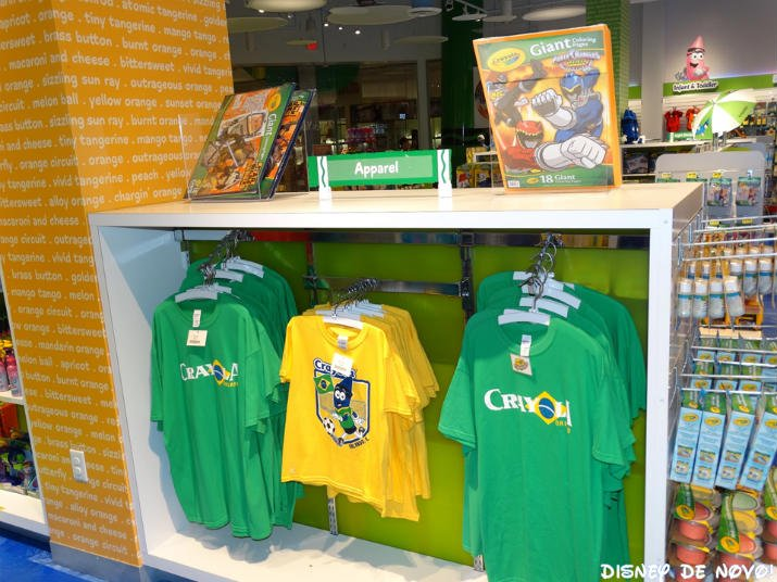 Loja da Crayola Orlando Brasil