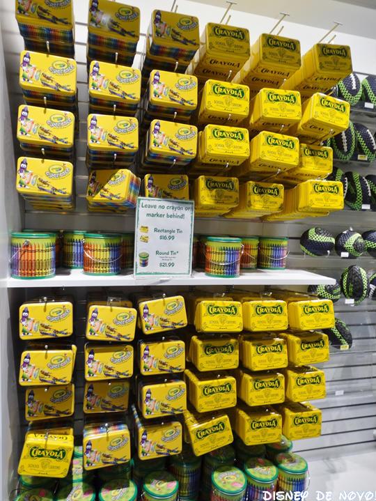 Loja da Crayola Orlando Estojo