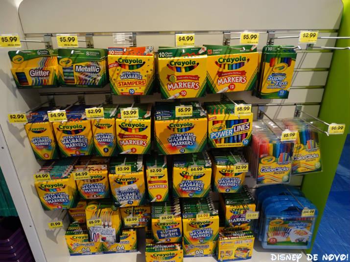 Loja da Crayola Orlando Material Escolar
