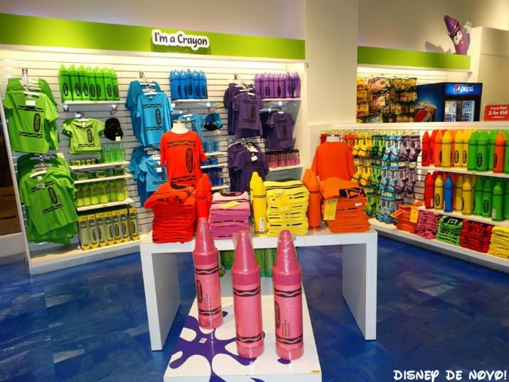 Loja da Crayola Orlando Produtos