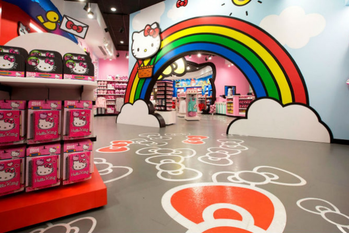 Nova loja da Hello Kitty na Universal