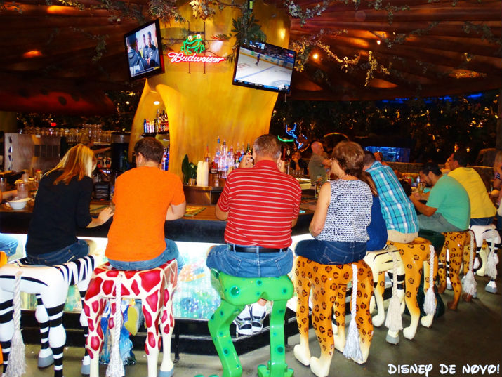 Rainforest_Cafe_Disney_Springs_Bar