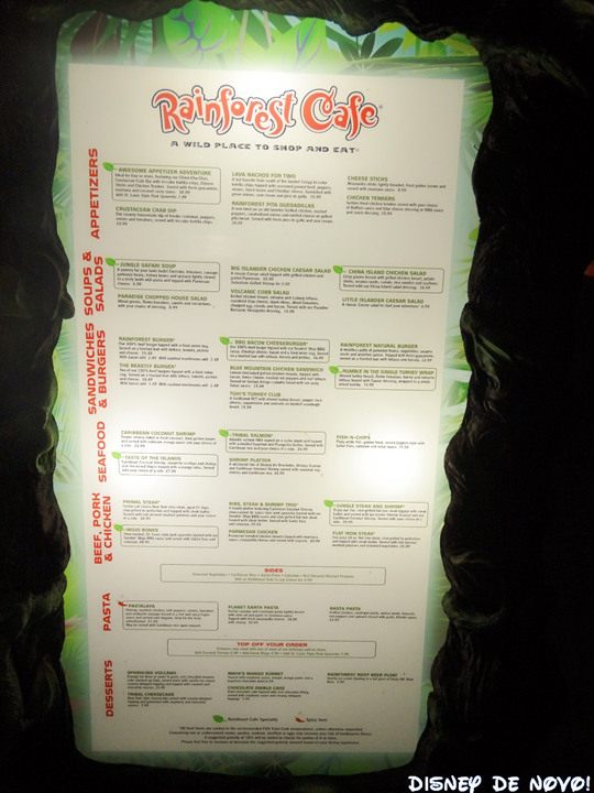 Rainforest_Cafe_Disney_Springs_Menu