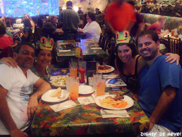 Rainforest_Cafe_Disney_Springs_Refeição