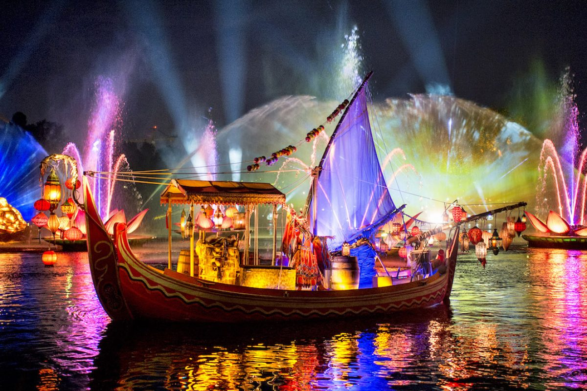 Rivers of Light — show noturno do Animal Kingdom