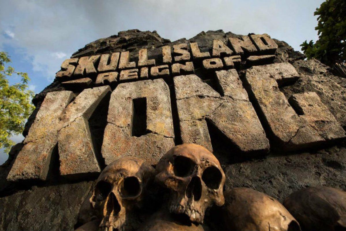 Novidades da atração Skull Island