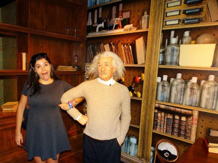 Madame Tussauds Orlando Einstein
