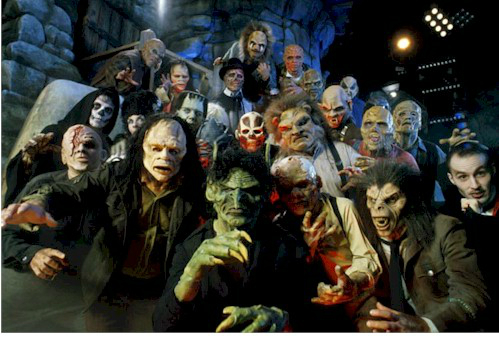 Universal halloween horror nights