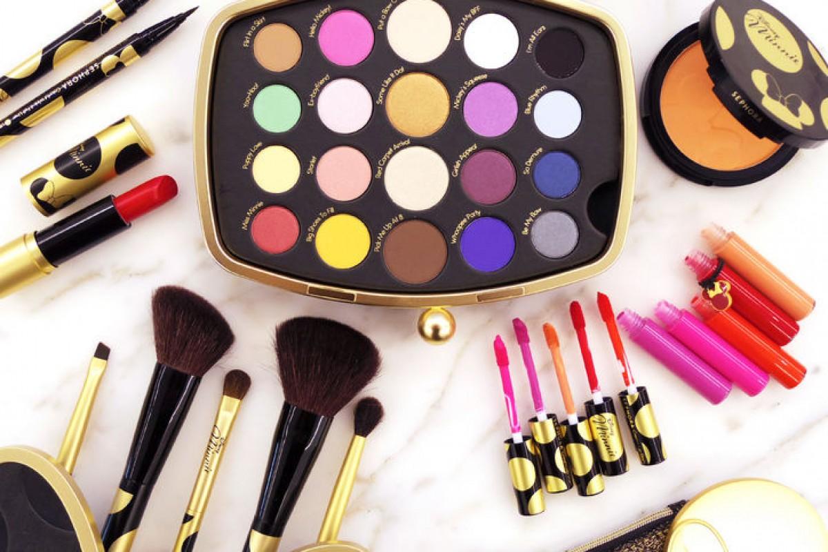 Coleção de maquiagem da Minnie para Sephora