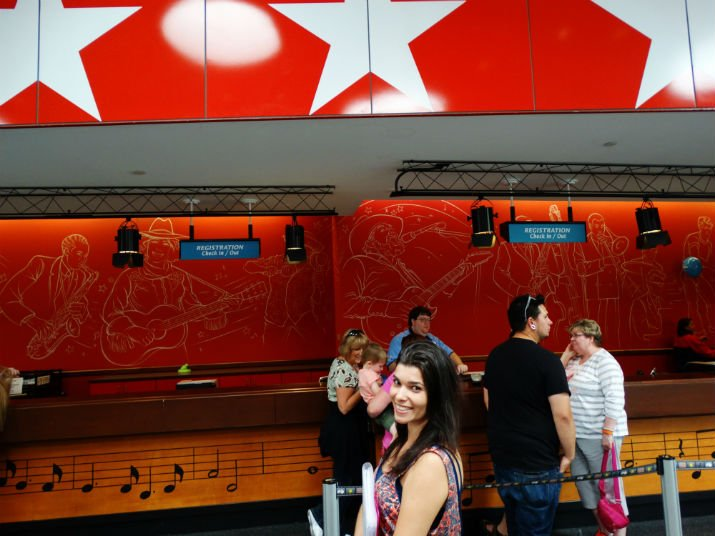 Disney All Star Music Checkin