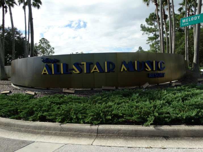 Disney All Star Music Entrada