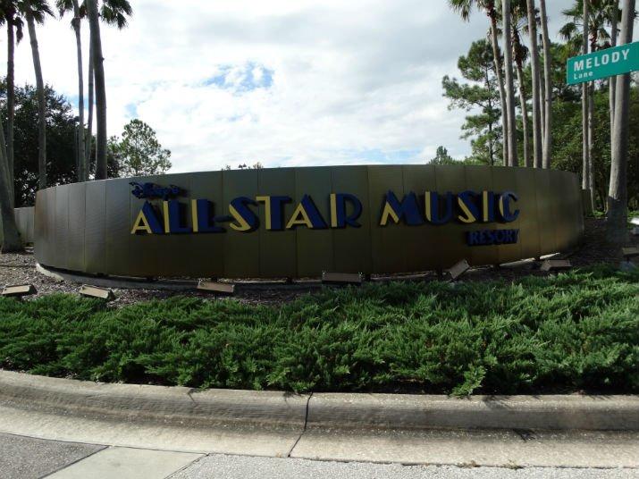 Disney All Star Music Entrada