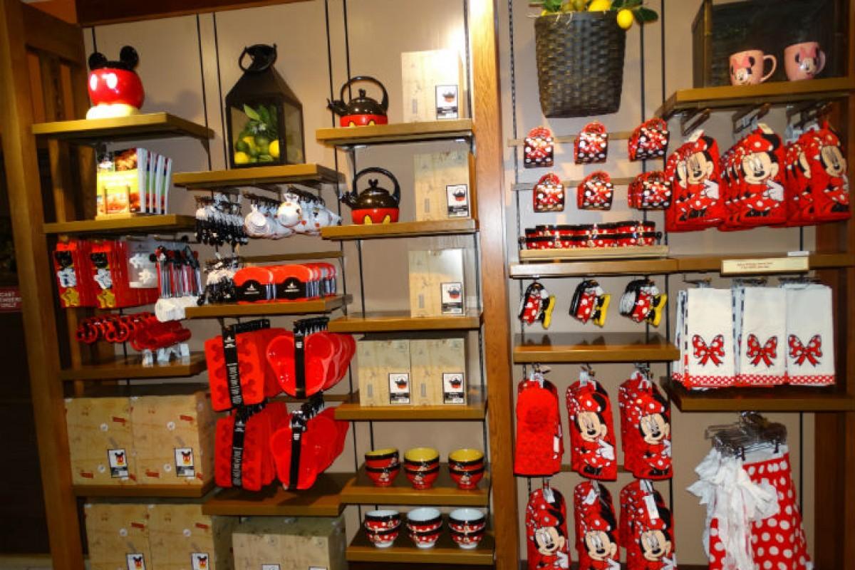Mickey's Pantry – utensílios de cozinha do Mickey